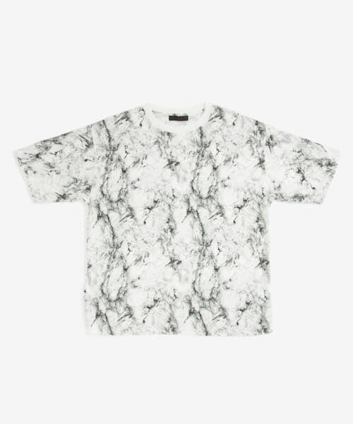 SENSE OF PLACE by URBAN RESEARCH / センスオブプレイス バイ アーバンリサーチ Tシャツ | マーブルビッグTシャツ(5分袖) | 詳細7