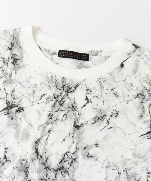 SENSE OF PLACE by URBAN RESEARCH / センスオブプレイス バイ アーバンリサーチ Tシャツ | マーブルビッグTシャツ(5分袖) | 詳細8