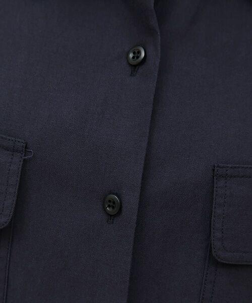 SHIPS for women / シップスウィメン シャツ・ブラウス | ミリタリーダブルポケットシャツ | 詳細7