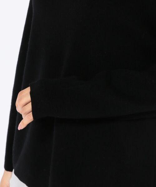 SHIPS for women / シップスウィメン ニット・セーター | ビッグオフショルダーニット | 詳細7