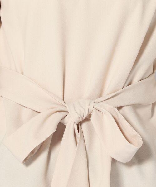 SHIPS for women / シップスウィメン シャツ・ブラウス(半袖以外) | 千鳥ステッチリボンブラウス | 詳細1