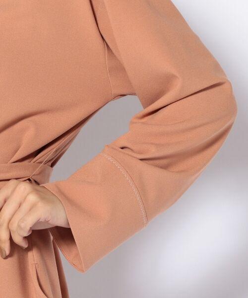 SHIPS for women / シップスウィメン シャツ・ブラウス(半袖以外) | 千鳥ステッチリボンブラウス | 詳細7