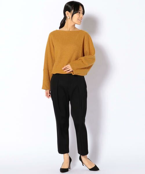 SHIPS for women / シップスウィメン カットソー | ELIN:ブークレバックギャザートップ | 詳細5