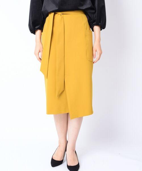 SHIPS for women / シップスウィメン ミニ・ひざ丈スカート   ポケットタイトスカート◆   詳細1