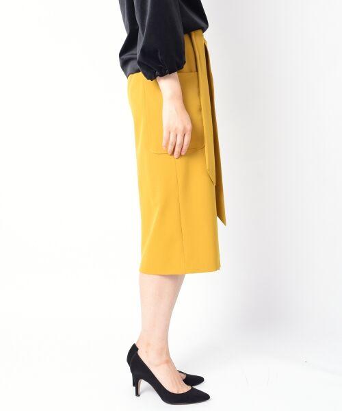 SHIPS for women / シップスウィメン ミニ・ひざ丈スカート   ポケットタイトスカート◆   詳細2