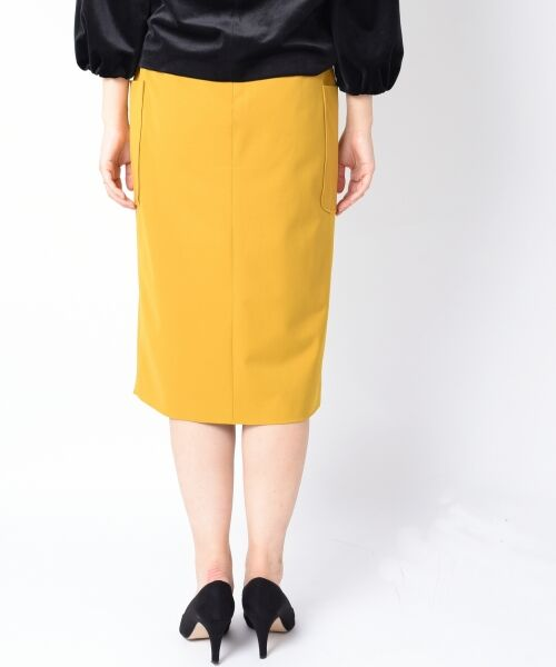 SHIPS for women / シップスウィメン ミニ・ひざ丈スカート   ポケットタイトスカート◆   詳細3