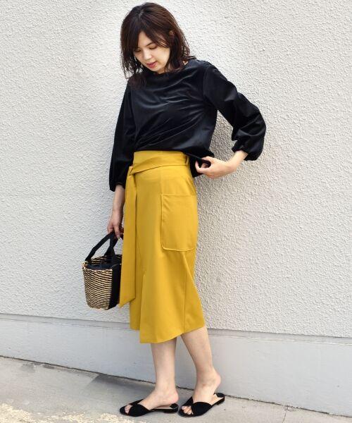 SHIPS for women / シップスウィメン ミニ・ひざ丈スカート   ポケットタイトスカート◆   詳細7