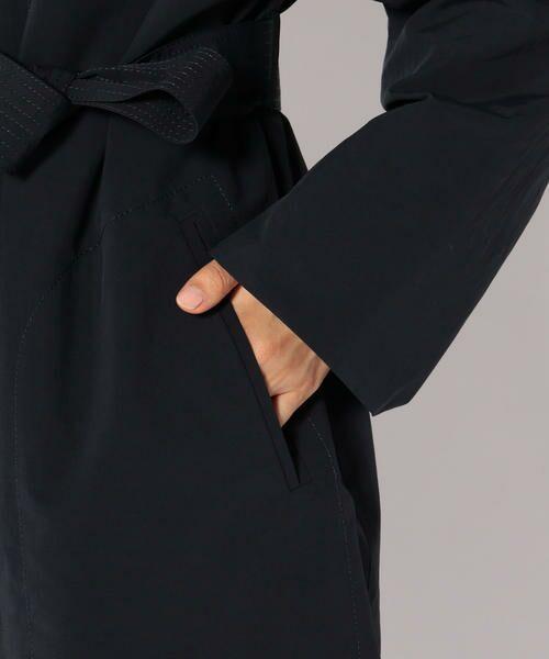 SHIPS for women / シップスウィメン ノーカラージャケット   PrimaryNavyLabel:ノーカラーライナーコート   詳細9