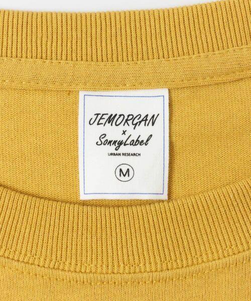 Sonny Label / サニーレーベル Tシャツ | JEMORGAN×SonnyLabel 度詰め天竺ビッグTシャツ | 詳細26