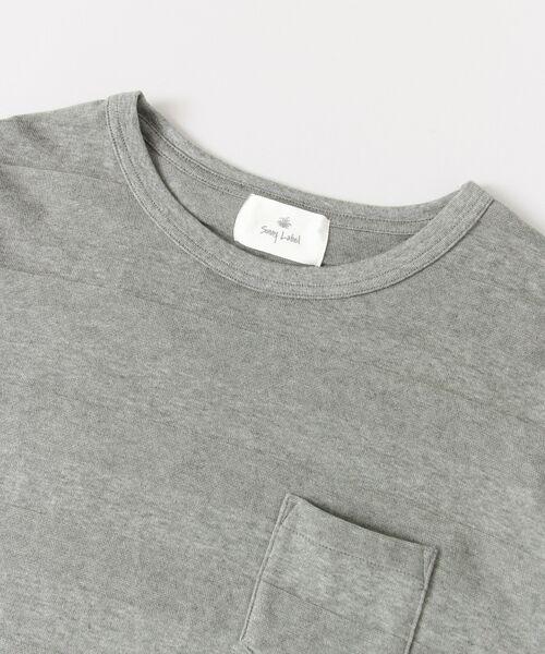 Sonny Label / サニーレーベル Tシャツ | シャドーボーダーロングTシャツ | 詳細15
