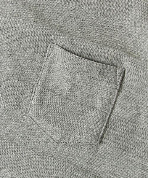 Sonny Label / サニーレーベル Tシャツ | シャドーボーダーロングTシャツ | 詳細17