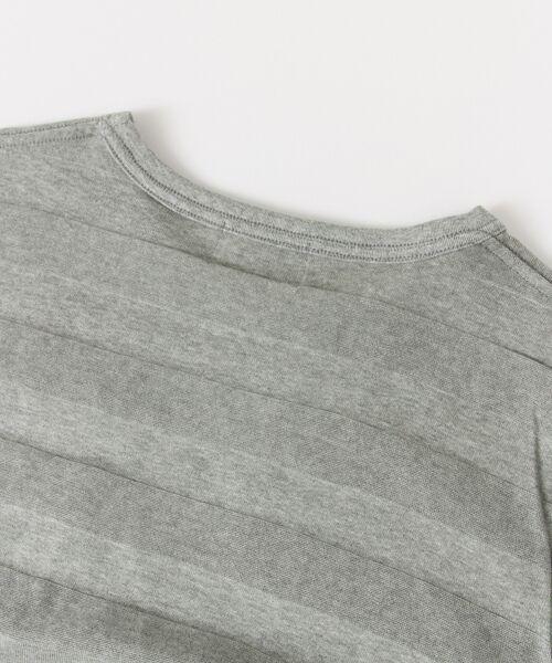 Sonny Label / サニーレーベル Tシャツ | シャドーボーダーロングTシャツ | 詳細21
