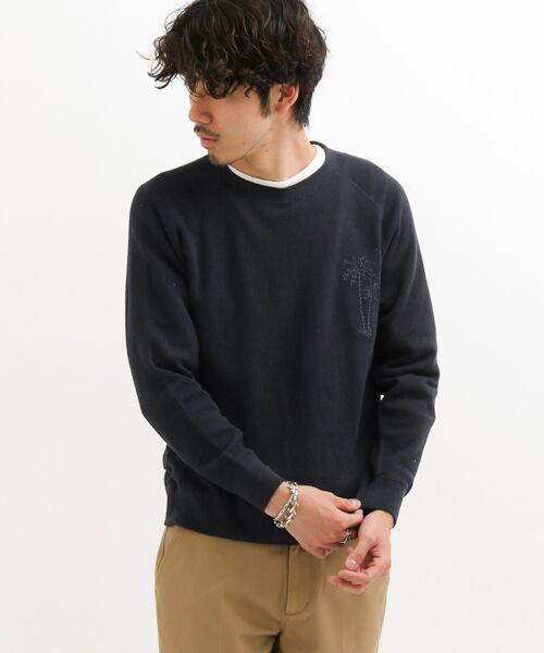 Sonny Label / サニーレーベル スウェット | トンプキン裏毛ヤシ刺繍プルオーバー | 詳細13