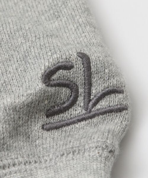Sonny Label / サニーレーベル スウェット | トンプキン裏毛ヤシ刺繍プルオーバー | 詳細23
