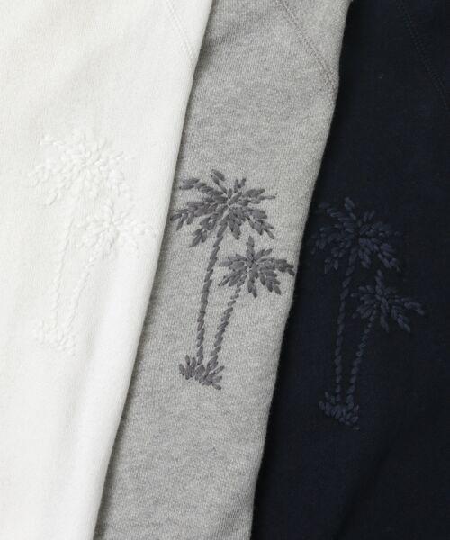 Sonny Label / サニーレーベル スウェット | トンプキン裏毛ヤシ刺繍プルオーバー | 詳細29