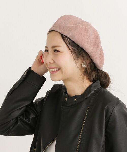 Sonny Label / サニーレーベル ハンチング・キャスケット・ベレー帽 | サマーコーデュロイベレー帽 | 詳細1