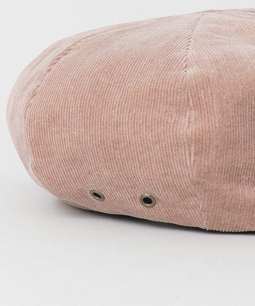 Sonny Label / サニーレーベル ハンチング・キャスケット・ベレー帽 | サマーコーデュロイベレー帽 | 詳細5