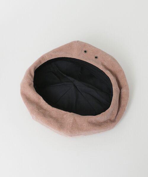 Sonny Label / サニーレーベル ハンチング・キャスケット・ベレー帽 | サマーコーデュロイベレー帽 | 詳細6