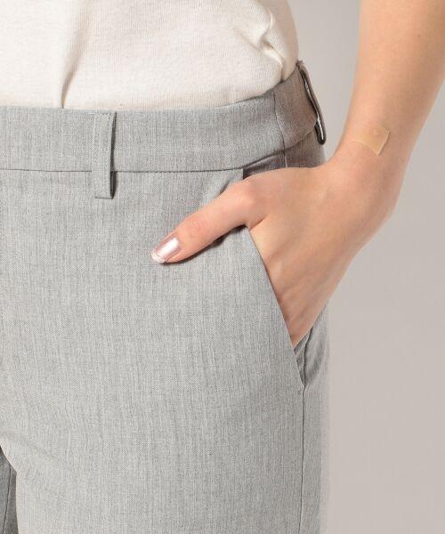 S size ONWARD(小さいサイズ) / エスサイズオンワード その他パンツ | 【肌に優しい・洗える】T/R 2wayアルガンオイル パンツ(スリム) | 詳細5