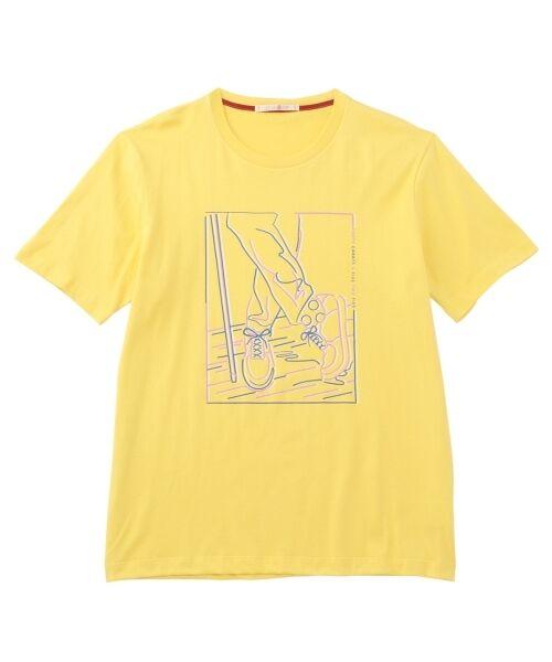 フットデザインTシャツ【送料無料】