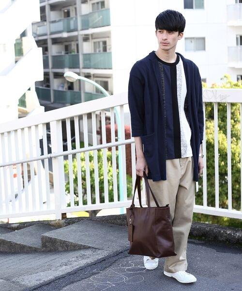 tk.TAKEO KIKUCHI / ティーケー タケオキクチ トートバッグ | イタリアンレザートートバッグ | 詳細10