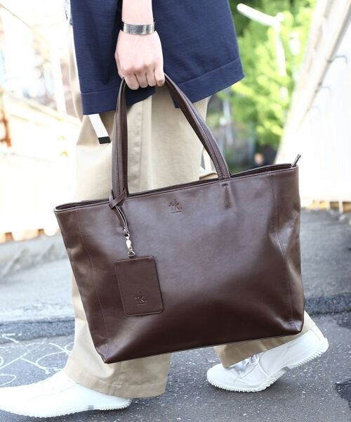 tk.TAKEO KIKUCHI / ティーケー タケオキクチ トートバッグ | イタリアンレザートートバッグ | 詳細9