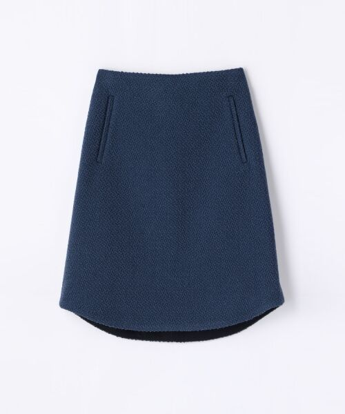 ウールツイード ラウンドスカート【送料無料】