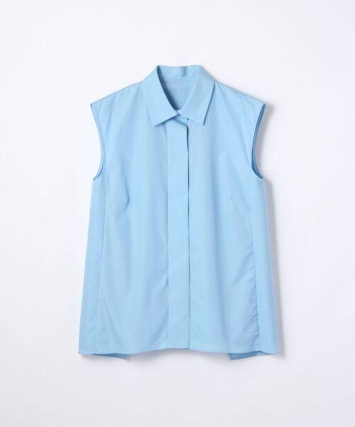 【先行予約】コットンブロード バックレイヤードシャツ