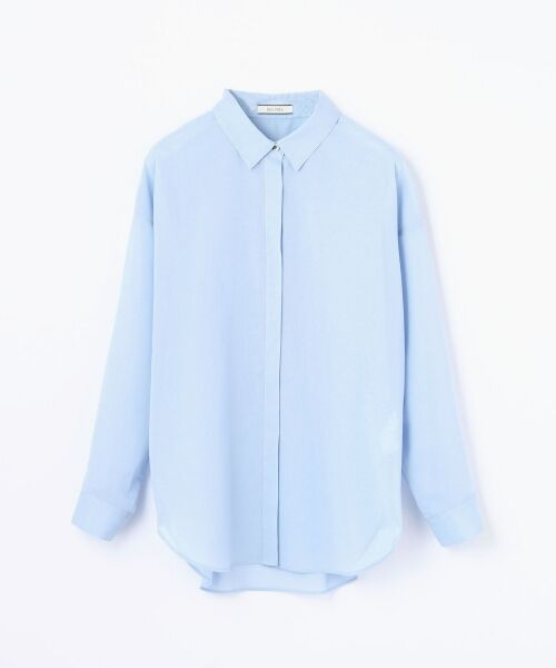 【先行予約】コットンボイル ビッグシャツ