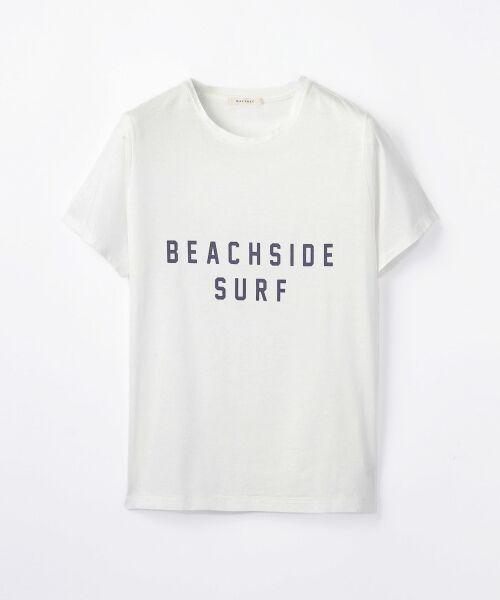 送料無料! リヨセルジャージー ロゴTシャツ(BEACHSIDE SURF)