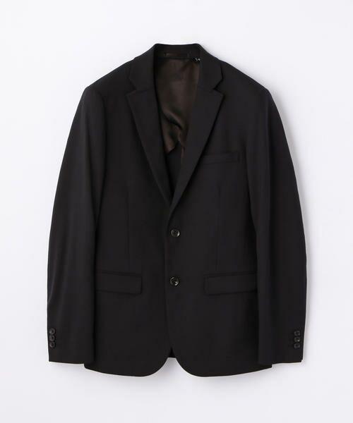 TOMORROWLAND / トゥモローランド テーラードジャケット | ストレッチ2WAY テーラードジャケット [2B](ブラック)