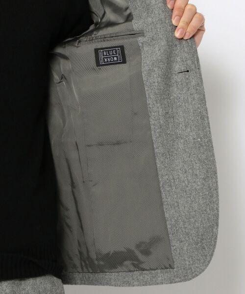 TOMORROWLAND / トゥモローランド テーラードジャケット | ストレッチフランネル テーラードジャケット | 詳細8