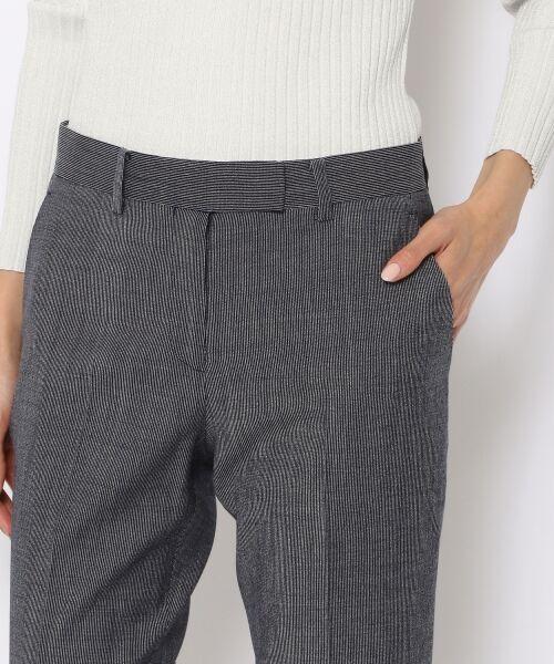 TOMORROWLAND / トゥモローランド スラックス・ドレスパンツ | ウールレーヨンストライプ シガレットパンツ | 詳細6