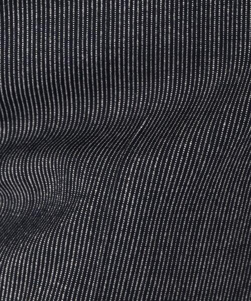 TOMORROWLAND / トゥモローランド スラックス・ドレスパンツ | ウールレーヨンストライプ シガレットパンツ | 詳細9