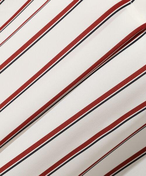 TOMORROWLAND / トゥモローランド シャツ・ブラウス | シアーツイルストライプ Vネックブラウス | 詳細7