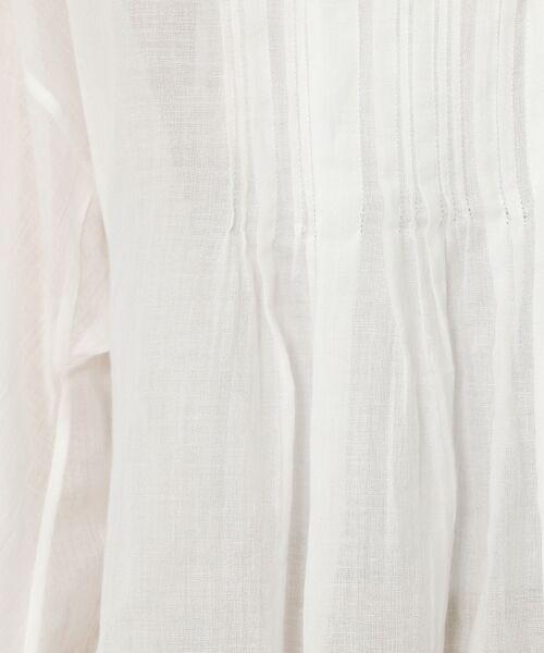 TOMORROWLAND / トゥモローランド シャツ・ブラウス | コットンエンブロイダリー ギャザーシャツ | 詳細13