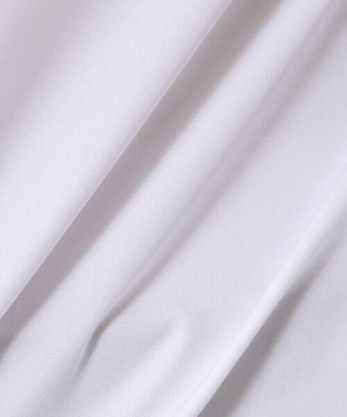 TOMORROWLAND / トゥモローランド シャツ・ブラウス | コットンポリエステル ノーカラーシャツ | 詳細8