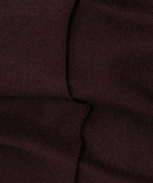 TOMORROWLAND / トゥモローランド ショート・ハーフ・半端丈パンツ | ウールフランネル ハイウエストガウチョパンツ | 詳細9