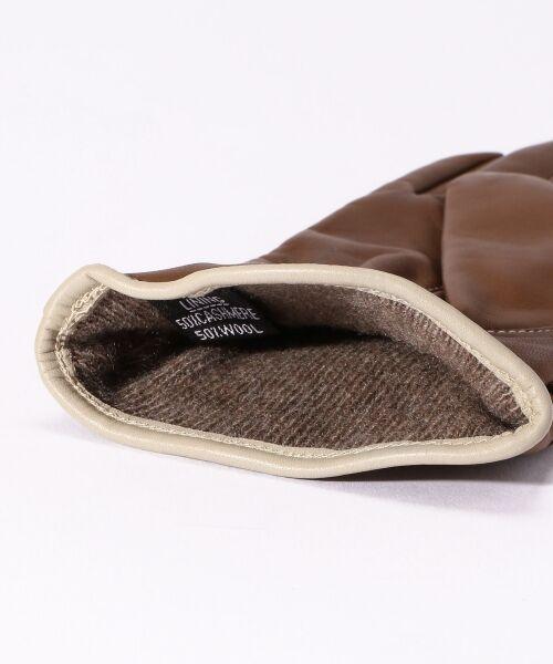 TOMORROWLAND / トゥモローランド 手袋 | Gloves ステッチグローブ | 詳細4