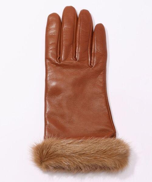 TOMORROWLAND / トゥモローランド 手袋 | Gloves ミンクファーグローブ | 詳細1