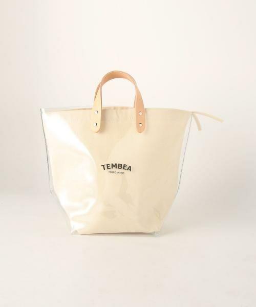 UNITED ARROWS / ユナイテッドアローズ トートバッグ | <TEMBEA(テンベア)>PVC トートバッグ(WHITE)
