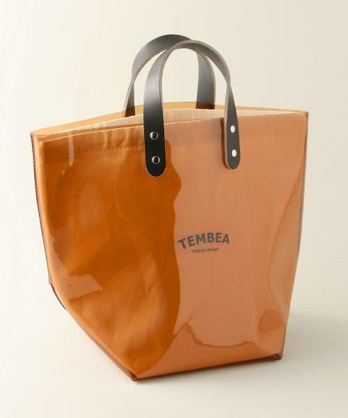 UNITED ARROWS / ユナイテッドアローズ トートバッグ | <TEMBEA(テンベア)>PVC トートバッグ(MD.BROWN)