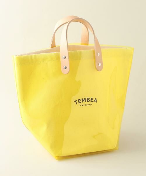 UNITED ARROWS / ユナイテッドアローズ トートバッグ | <TEMBEA(テンベア)>PVC トートバッグ(YELLOW)