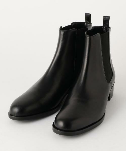 UNITED ARROWS / ユナイテッドアローズ ブーツ(ショート丈) | ○UBBT サイドゴアブーツ(ブラック)