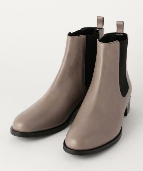 UNITED ARROWS / ユナイテッドアローズ ブーツ(ショート丈)   ○UBBT サイドゴアブーツ(MD.GRAY)