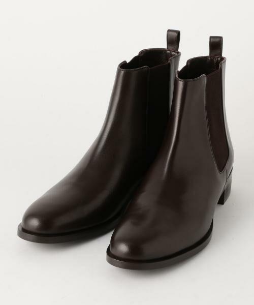 UNITED ARROWS / ユナイテッドアローズ ブーツ(ショート丈) | ○UBBT サイドゴアブーツ(ダークブラウン)