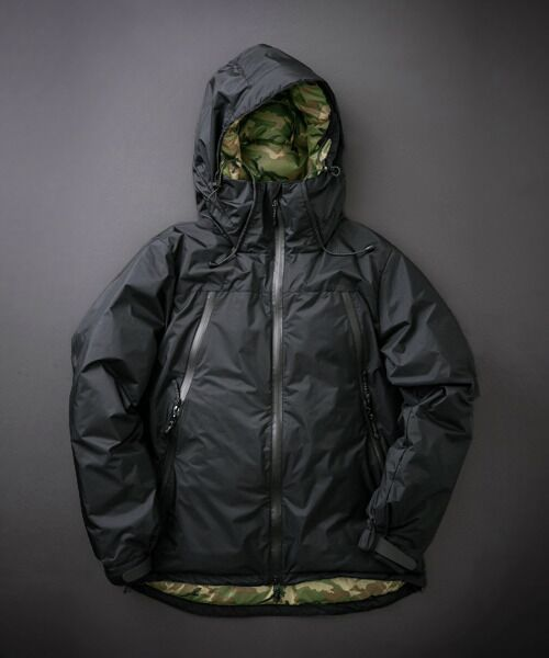 URBAN RESEARCH / アーバンリサーチ ダウンジャケット・ベスト | NANGA×URBAN RESEARCH iD AURORA 3LAYER DOWN BLOUSON(BLK×CAMO)