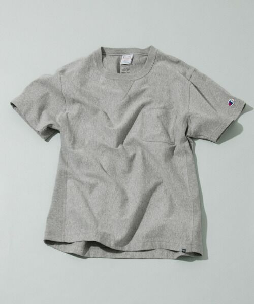 <タカシマヤ> 送料無料! Champion×WORK NOT WORK REVERSE WEAVE POCKET T-SHIRTS