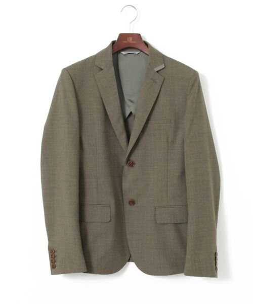 <タカシマヤ> 送料無料! WORK NOT WORK RIBBON PIPPING 2BUTTON JACKET
