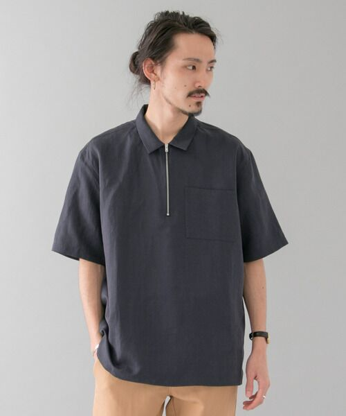 NORSE PROJECTS VILMAR SHORT-SLEEVE COTTON LINEN【送料無料】